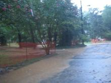 Flooding in Cary