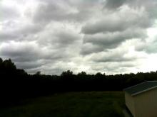 Clouds from Irene