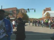 Fayetteville Veterans Day parade