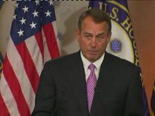 Boehner speaks on payroll tax cut extension