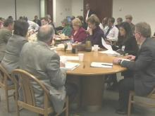 Wake County School Board work session (Feb. 21, 2012) part 1