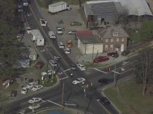 Sky 5: Police respond to shooting in Durham