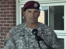 Bragg spokesman outlines charges against general