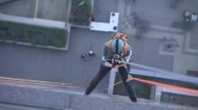 IMAGES: Elizabeth Gardner goes 'Over the Edge'