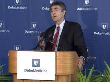 Nobel laureate Robert Lefkowitz of Duke