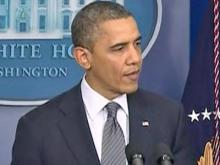 Obama speaks on Connecticut school shooting