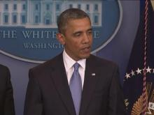 Obama discusses 'cliff' bill