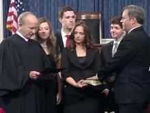 Lieutenant governor takes oath of office
