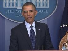 Obama speaks on sequestration