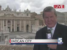 David Crabtree live in Vatican City