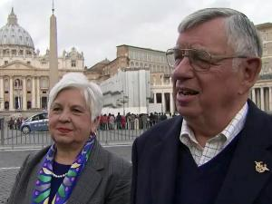 Warren County residents Jeanette and Alan Kimball in Rome