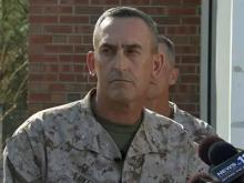 Camp Lejeune news conference