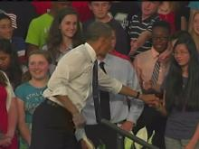 Obama talks jobs on NC tour stop