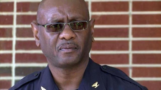 North Carolina Central University Police Chief Tim Bellamy