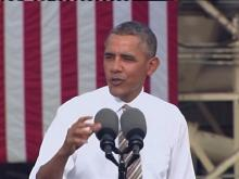 Obama speaks on economy, shutdown
