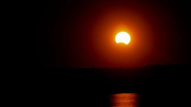 An eclipse from November 2013.