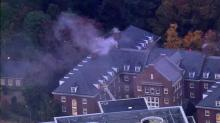 IMAGE: Cause of UNC dorm fire under investigation