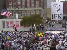 Ceremony marks 50 years since JFK assassination