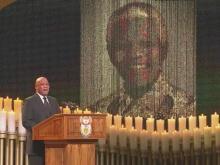 Nelson Mandela funeral service