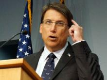 McCrory, officials give update on state's roads