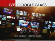 Google Glass Kianeys eye view