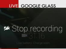 Google Glass: Brian's eye view