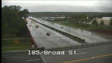 Traffic cameras show rain around Triangle