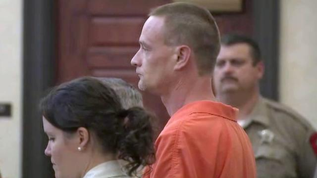 Matthew Reed appears in court on Monday, Aug. 11, 2014.