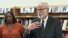Durham Public Schools Superintendent Bert L'Homme