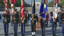 Veterans Day: WWII memorial