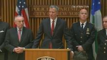 NYC officials update on fatal police officer shootings