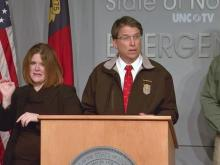 McCrory: Safety is the No. 1 priority