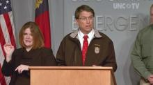 McCrory discusses state's preparations for winter storm