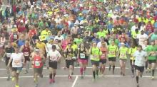 And they're off: Runners start Rock 'n' Roll Marathon