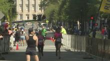 Success: Rock 'n' Roll Marathon finish line