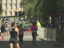 Success: Rock 'n' Roll Marathon finish line