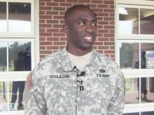 Soldier discusses rescue of crash victims