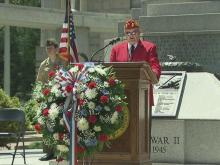 Raw: State Capitol Memorial Day ceremony