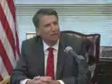 LIVE: McCrory grants pardons to McCollum, Brown