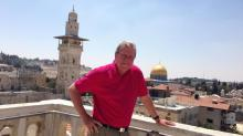 David Crabtree in Israel