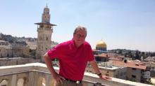David Crabtree in Israel