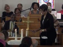 Prayer service held for Charleston shooting victims