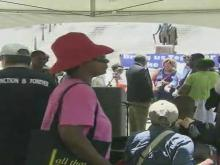 Protesters hold anti-Confederate flag rally in SC