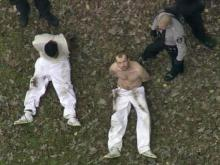 Sky5: Prisoners captured in Raleigh