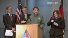 McCrory gives update on state's response to winter storm
