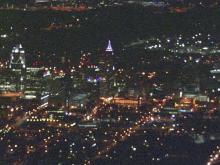 Sky 5: People gather at vigil for man shot by Raleigh police officer