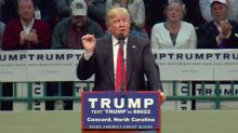 Donald Trump campaigns in Concord
