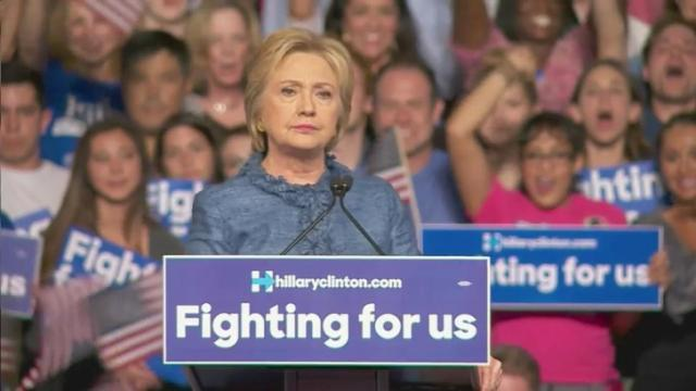 Clinton claims primary victories in Fla., NC