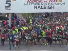 Live look: Rock 'n' Roll Marathon start
