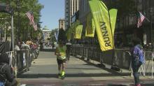 Marathoners cross Rock 'n' Roll finish line
